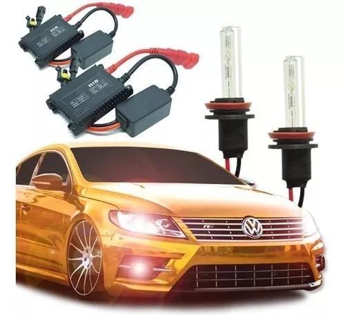 Kit xenon automotivo hid farol carro 12v milha par lâmpadas