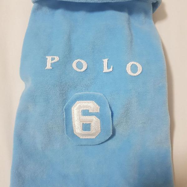 Pet pólo azul 4