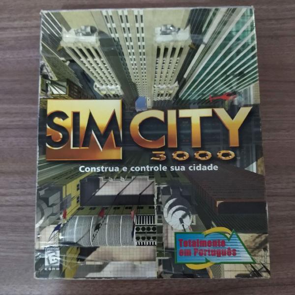 Simcity 3000 original (colecionador)