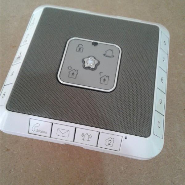 Alarme verisure usado ativacao por aplicativo
