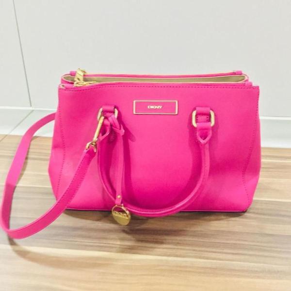 Bolsa dkny original pink rosa