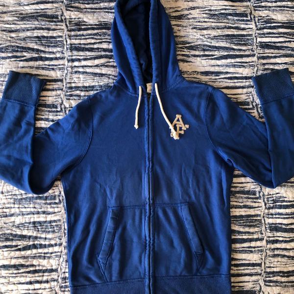 Casaco azul abercrombie & fitch