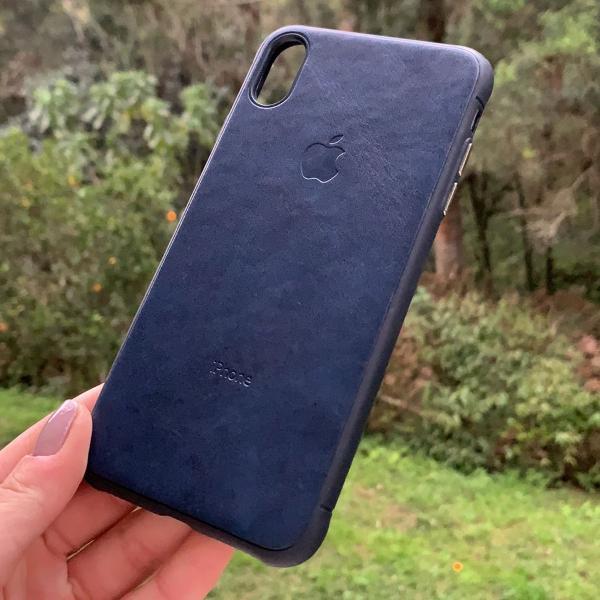 Case couro iphone
