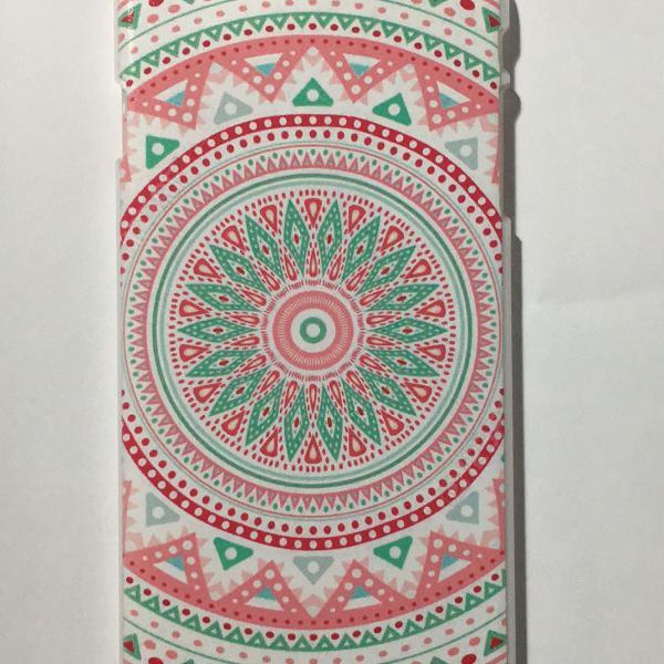 Case floral colorida iphone 6 plus
