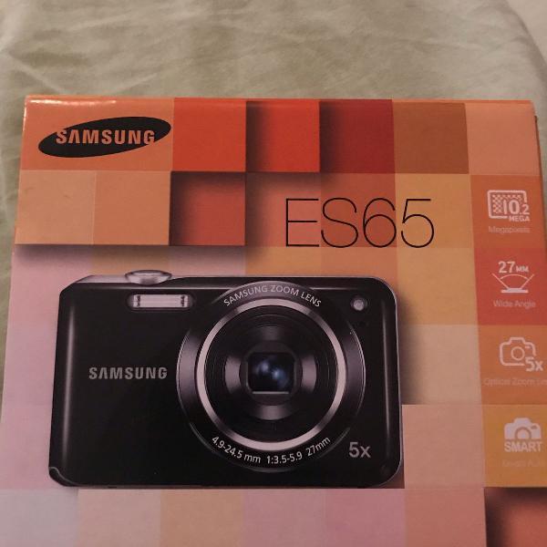 Câmera digital samsung es65 rosa