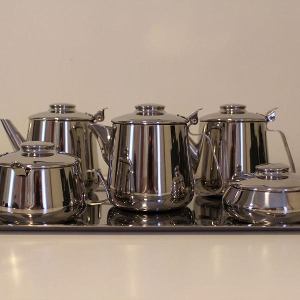 Conjunto de chá e café plaza hercules 7 peças