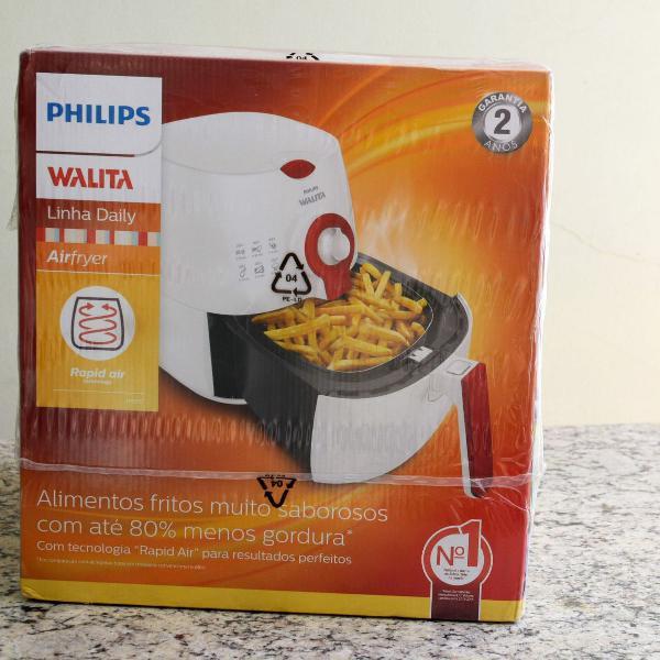 Fritadeira elétrica airfryer viva philips walita lacrada