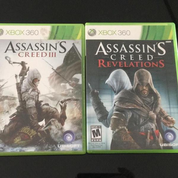 Jogos xbox 360 assassins creed