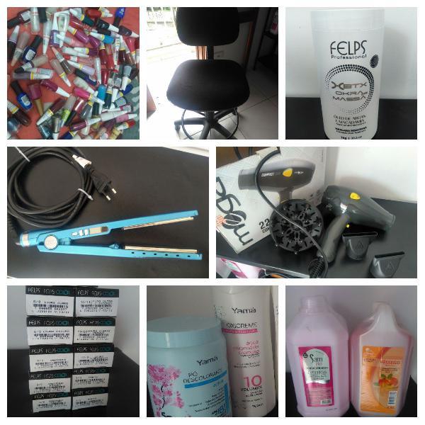 Kit salão, manicure e cabelo