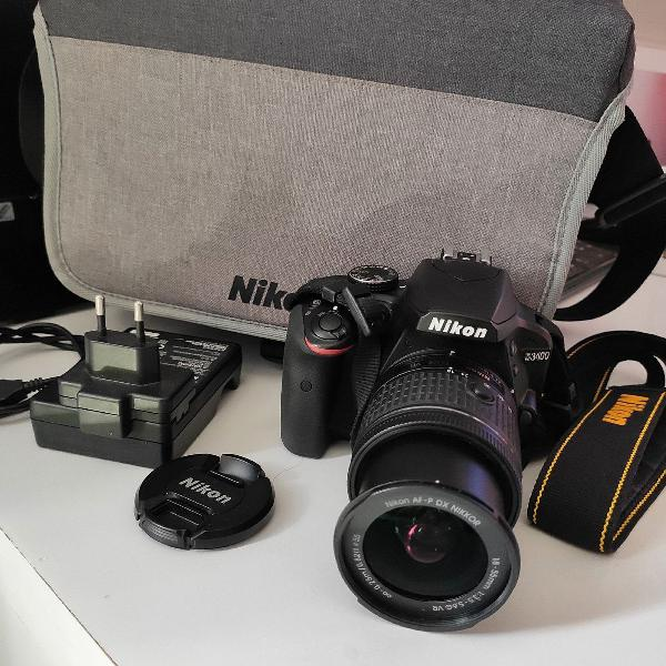 Máquina fotográfica nikon d3400 semi nova preço baixo