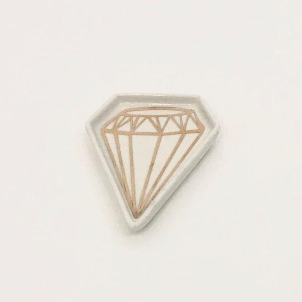 Porta acessórios diamante