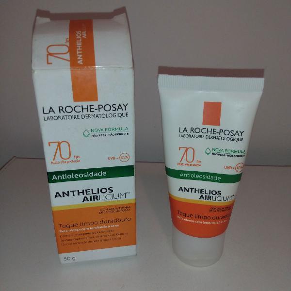 protetor solar athelios airlicium antioleosidade fps 70 la