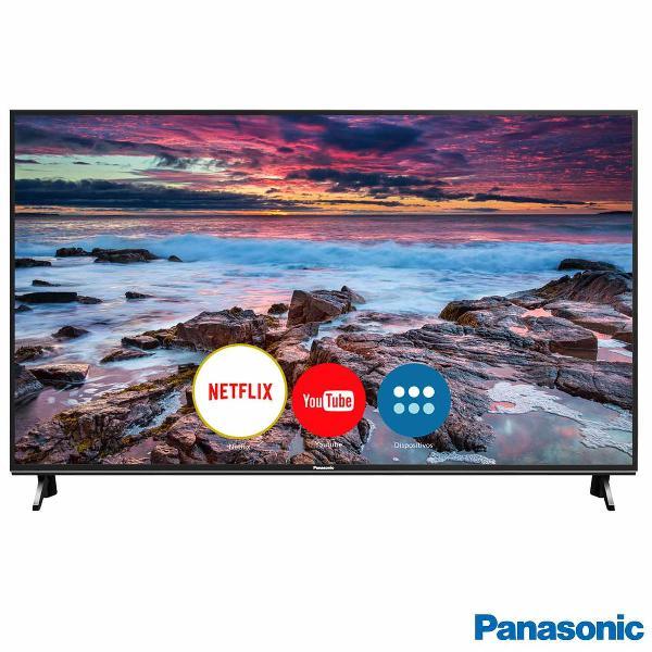 """Smart tv panasonic led 4k ultra hd 55"""" tc-55fx600b"""