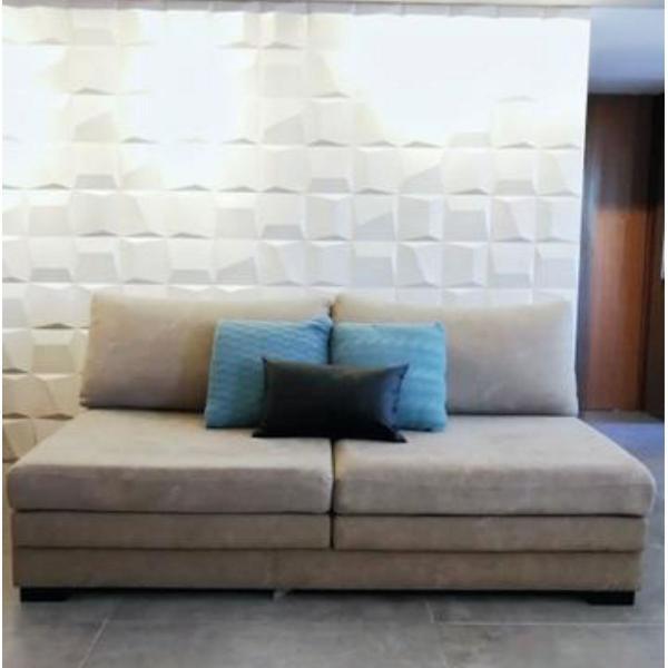 sofá retrátil prima linea tecido (4 lugares, brasilia)