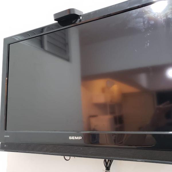Tv semp toshiba 32 polegadas (com conversor digital)