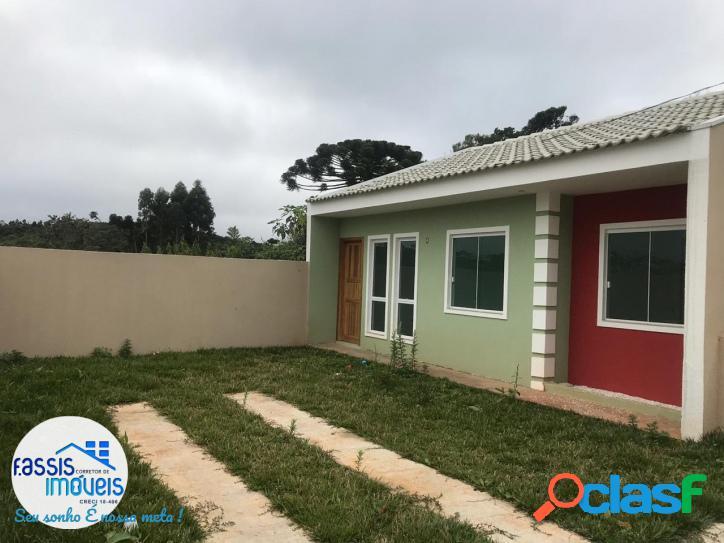Casa nova condomínio fechado ultima unidade