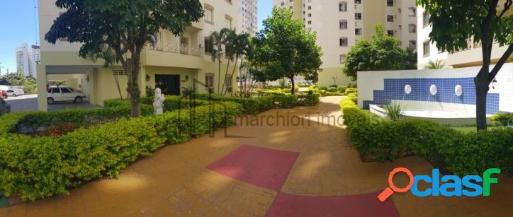 Apto 3 dormitórios com suite, 2 banheiros, 90 m2, 2 quadras da orla, com vista pro mar em Itapua.