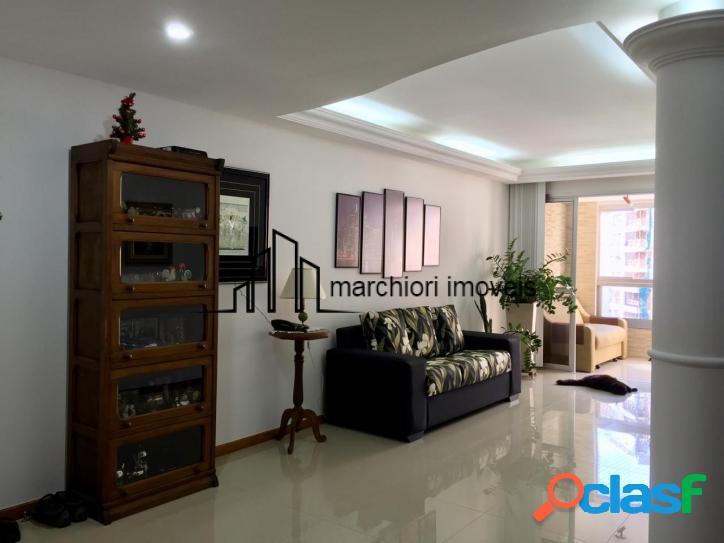Apartamento 3 quartos (1 suíte), 120 m², montado, varanda com sol da manhã,