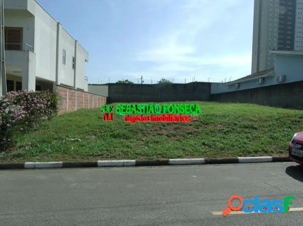 Terreno em condomínio fechado no vila branca jacareí