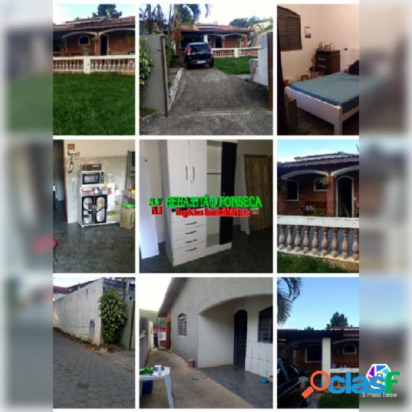 Casa dois dormitórios, a venda em Paraibuna