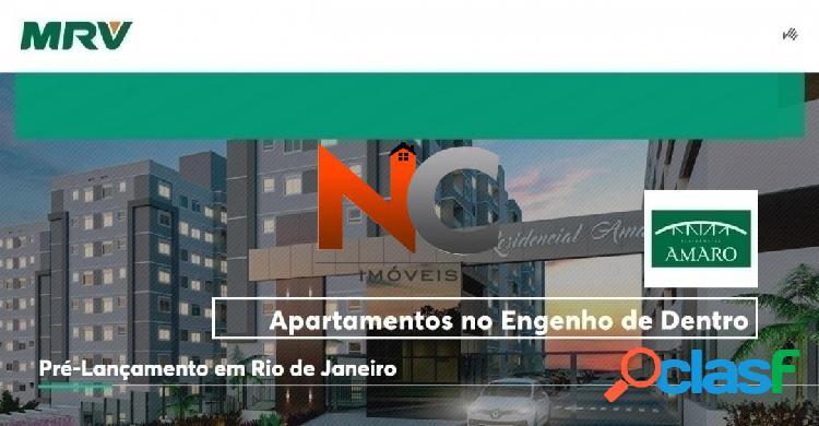 Residencial amaro - mrv- apartamento com 2 dorms - r$ 220 mil, cod: 1615532
