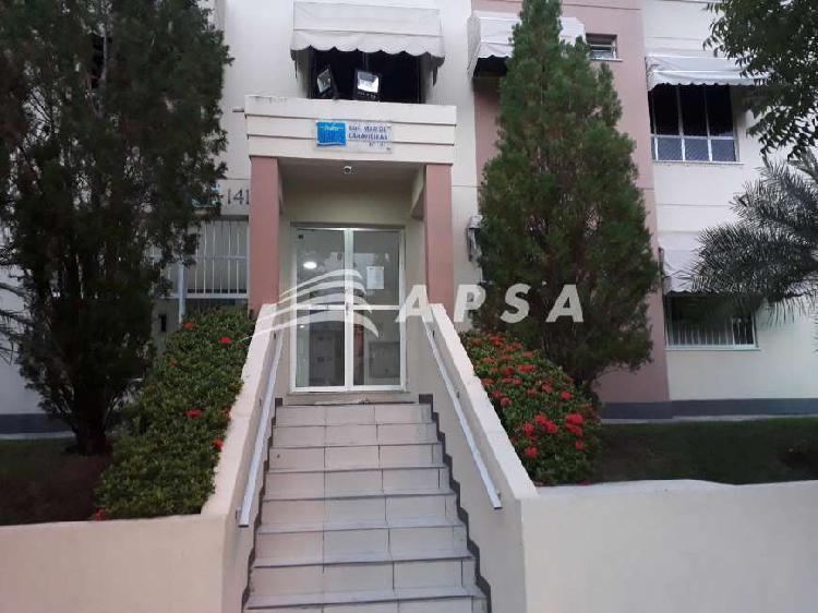 Apartamento com 2 quartos para alugar, 56 m² por r$