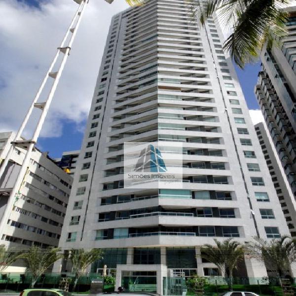 Apartamento com 3 quartos para alugar, 187 m² por r$