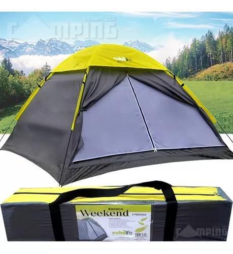 Barraca acampamento camping 2 pessoas impermeavel 2 lugares