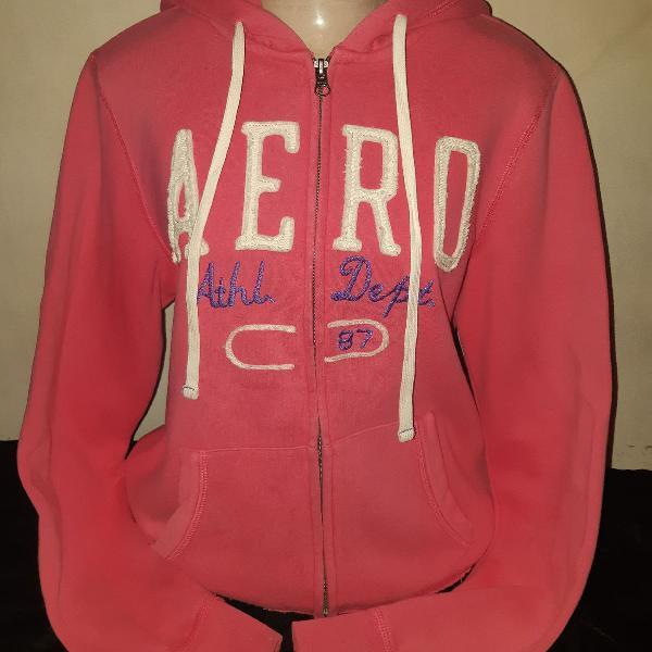 Blusa de moletom pink, tamanho g