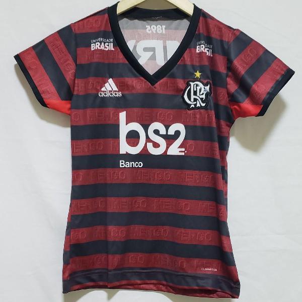 Camisa feminina flamengo tamanho p