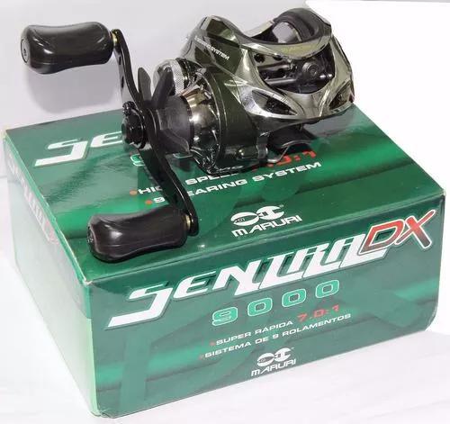 Carretilha maruri sentra dx9000,9 rol. perfil baixo - esq.