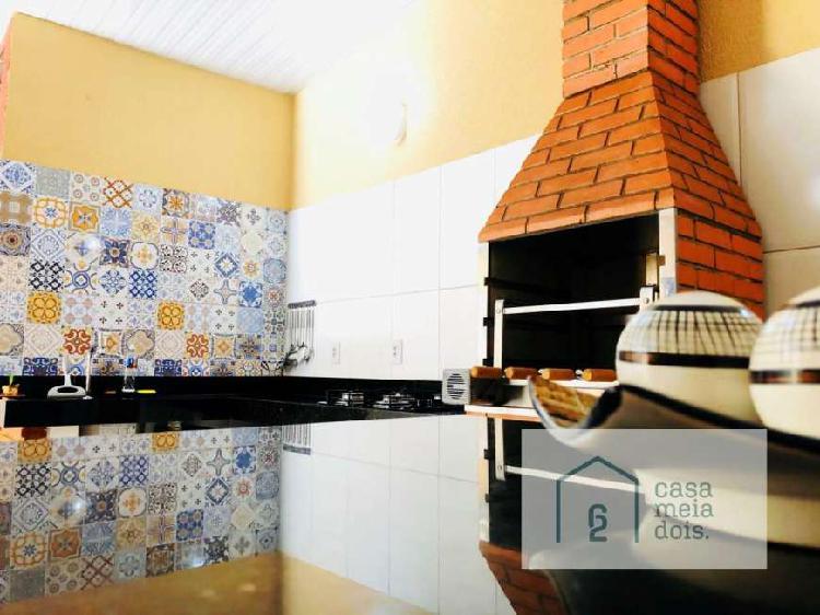 Casa com 3 quartos à venda, 117 m² por r$ 250.000 cod.