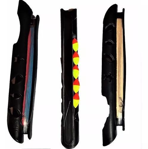 Enrolador linha pesca vara telescópica mão 3 pçs boia