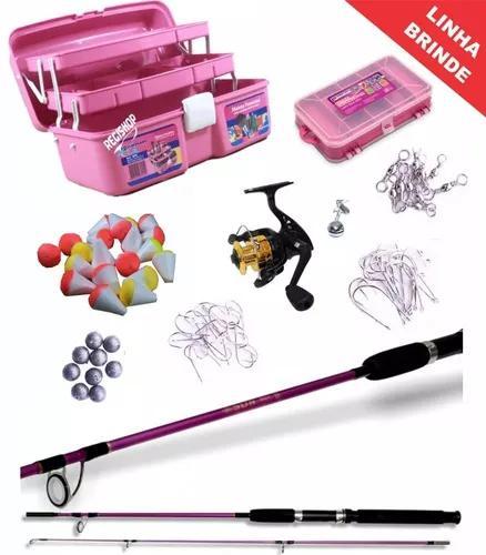 Kit pesca rosa f
