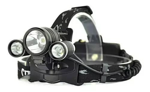 Lanterna cabeça profissional 3800w/1160 lumens impermeavel