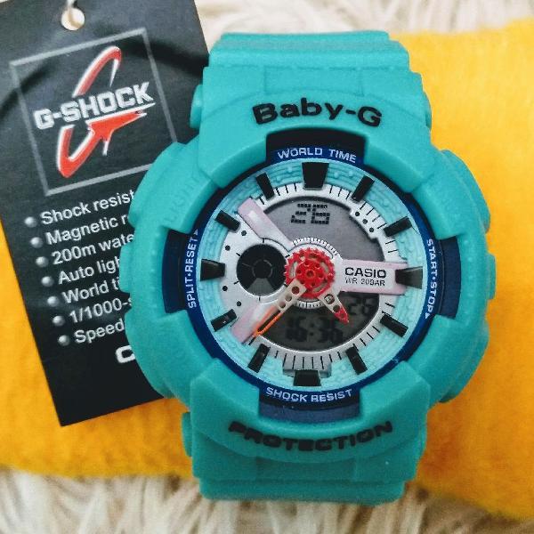Relógio baby-g feminino importado p.l.