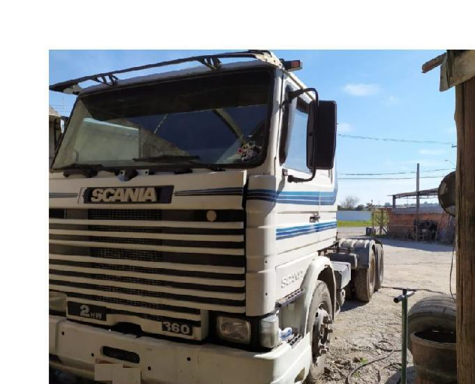 Scania r 112 hw 360 1991 6x2
