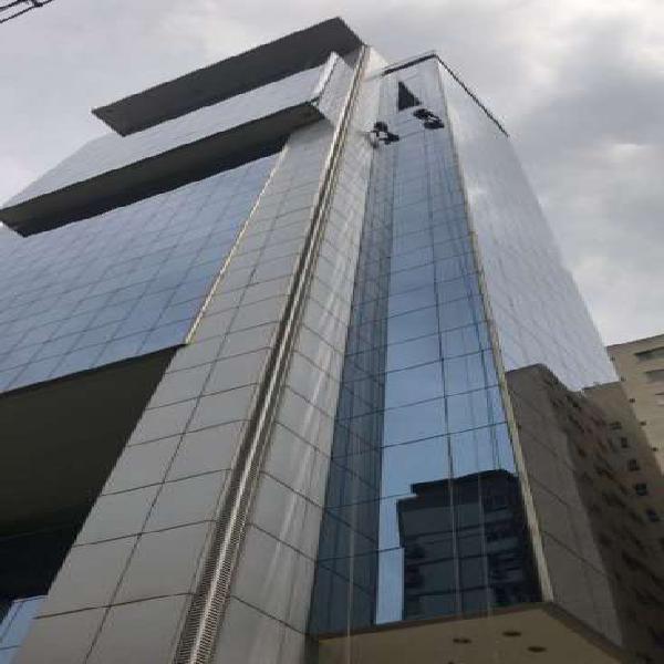 Sala comercial para alugar, 72 m² por r$ 10.000/mês cod.