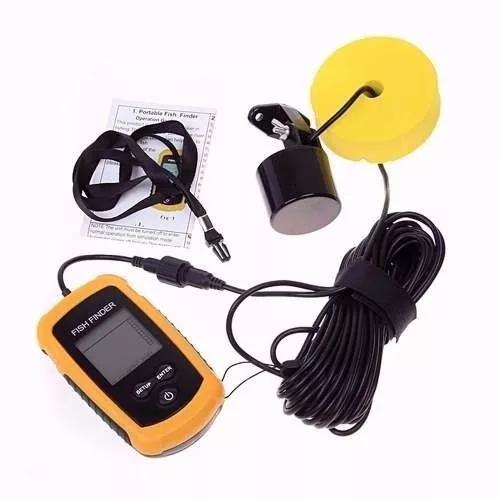Sonar portátil para pesca fish finder com sonda