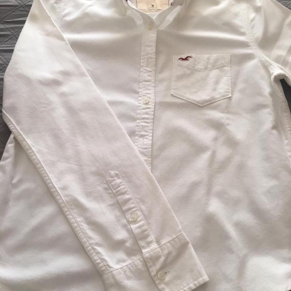 Camisa branca feminina hollister