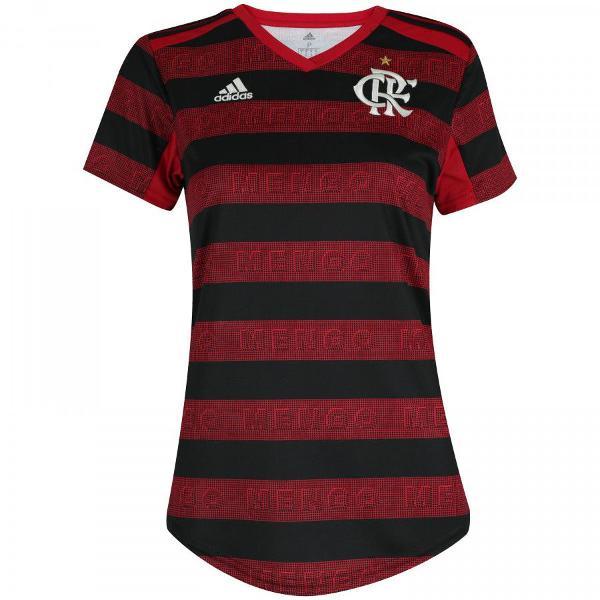 Camisa flamengo adidas feminino torcedor sem numero