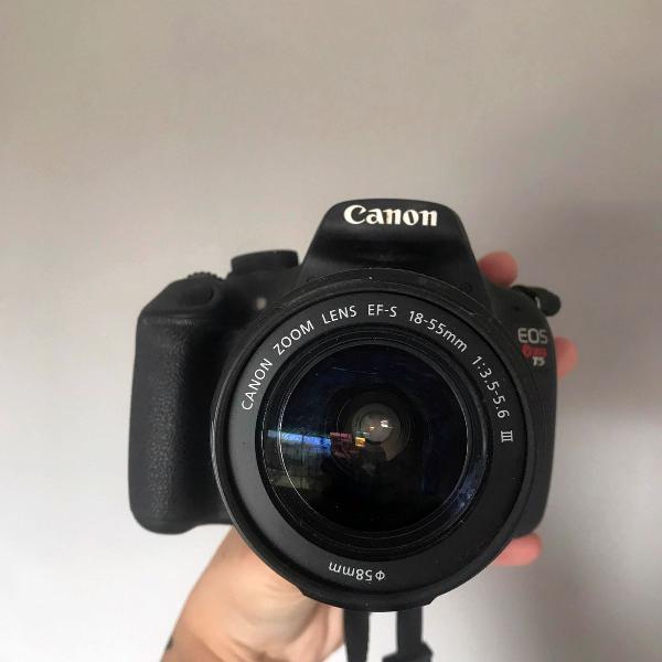 Câmera canon t5 - semi nova