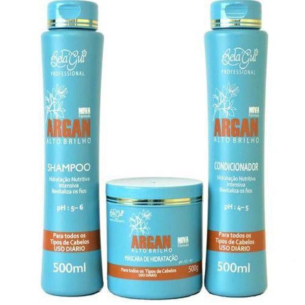 Kit profissional capilar oléo de argan - oferta