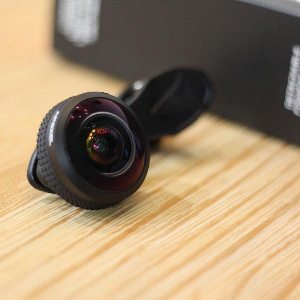 Lente 8mm super fisheye/olho de peixe apexel para celular