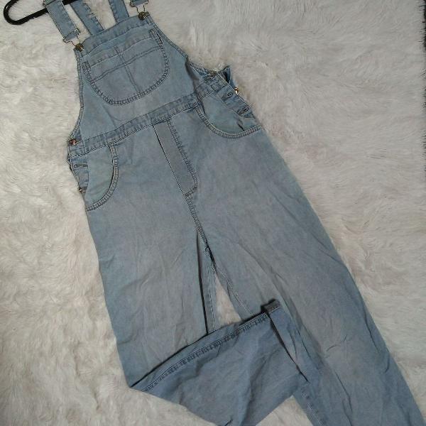 Macacão jeans da câmbos....lindooo!