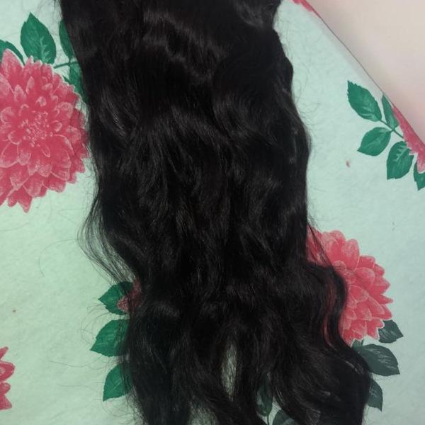 Mega hair, cabelo humano 60 cm