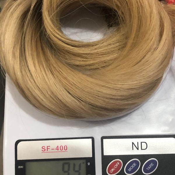 Mega hair - cabelo humano loiro