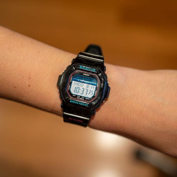 Relógio baby g preto gracinha