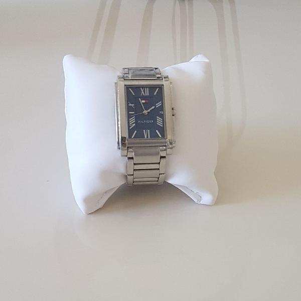 Relógio prata feminino tommy hilfiger