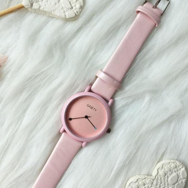 Relógio vintage rosa